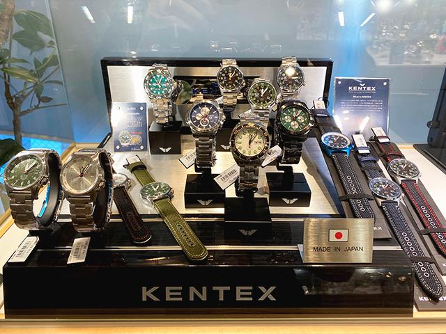 腕時計のななぷれ ケンテックス陳列